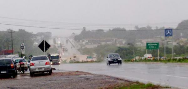 Sexta-feira será nublada e com muita chuva em Rondônia diz previsão do Sipam