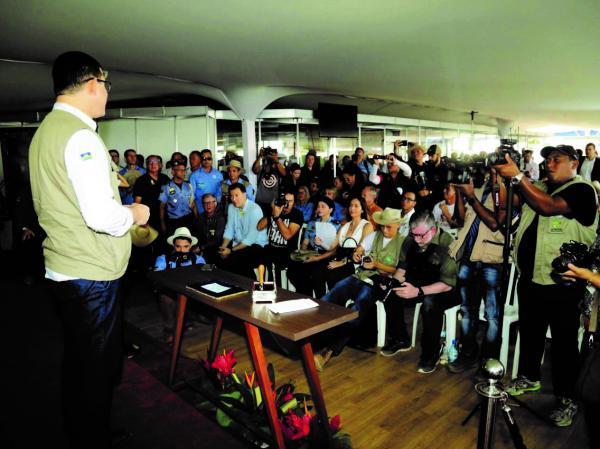 Marcos Rocha abre oficialmente a 8ª Rondônia Rural Show
