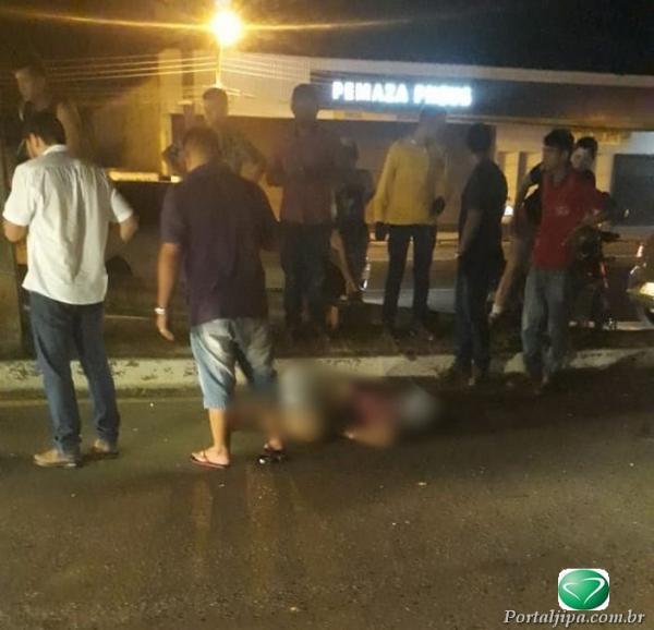 Jovem morre após perder controle da motocicleta, em Ji-Paraná