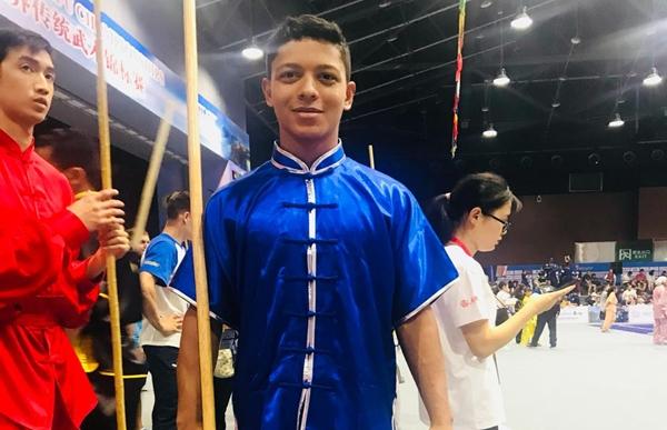 Rondoniense é Bronze em Campeonato Mundial de Kung Fu na China