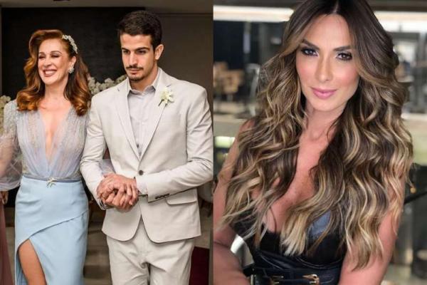 Claudia Raia revela o motivo de ter interferido no relacionamento do filho