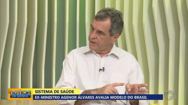 Ex-ministro da Sa�de visita Teresina e avalia modelo do SUS