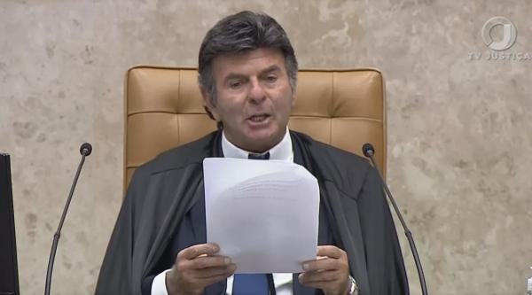 Fux rebate discurso de Bolsonaro