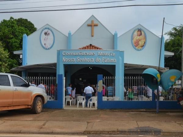 Missa Santuário de Fátima Ji-Paraná